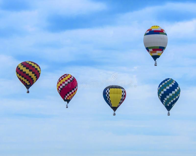 Sky Full of Ballons royalty free stock images