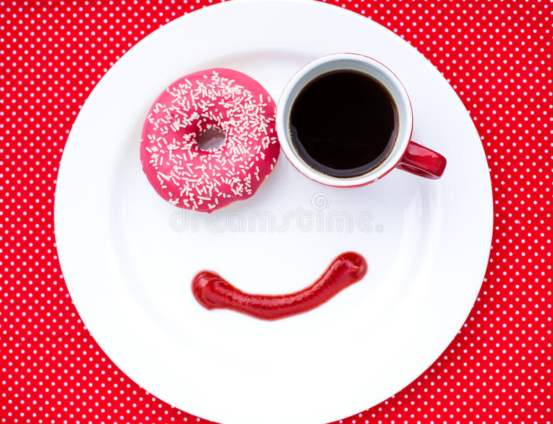 Morning smile royalty free stock photos