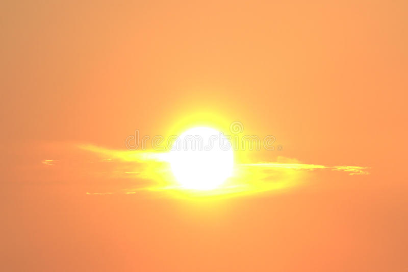 Morning Sun royalty free stock photos