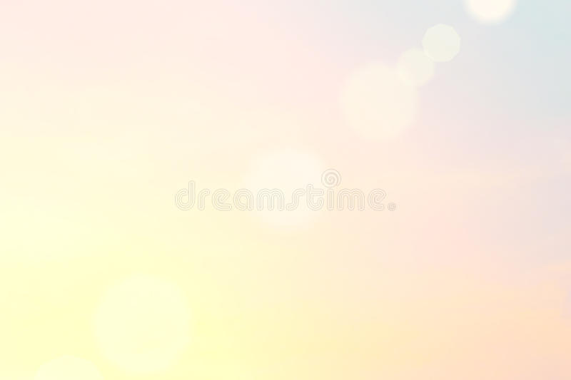 Morning sun light orange hot zone. Beautiful light from the nature at sunset every day stock illustration