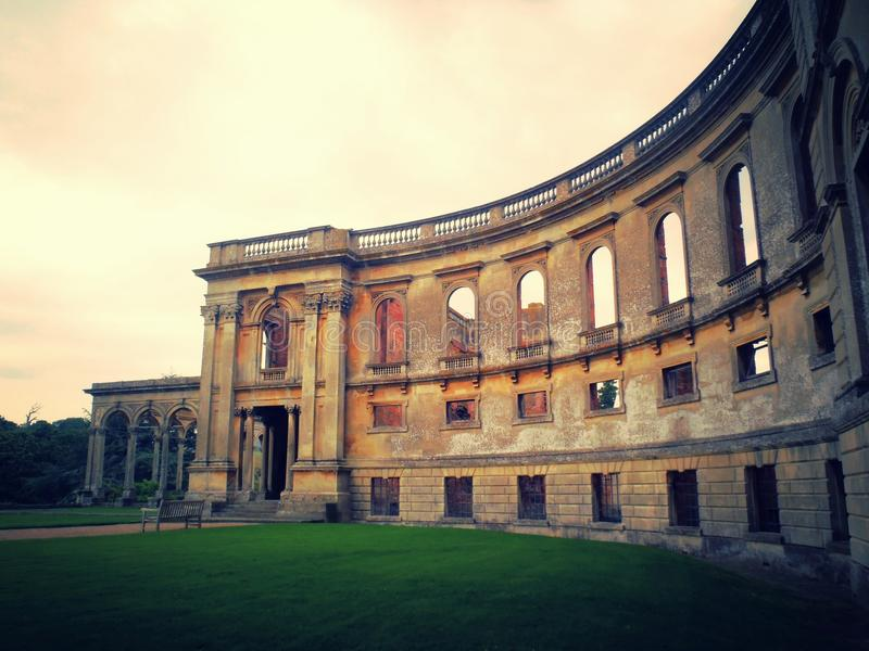 Witley Court at Dawn stock photo