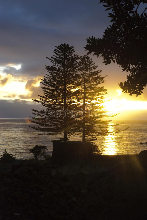 Download Morning Sunrise At Azores Islands Stock Photo - Image: 27208156