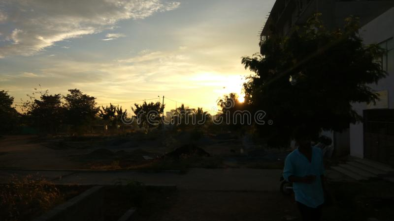 Morning sunrise royalty free stock image