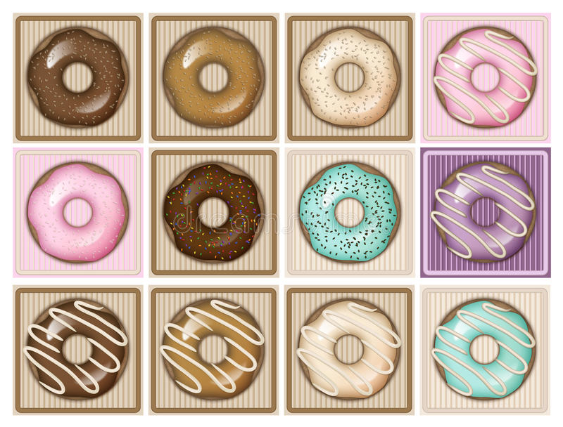 Morning sweets royalty free stock photography