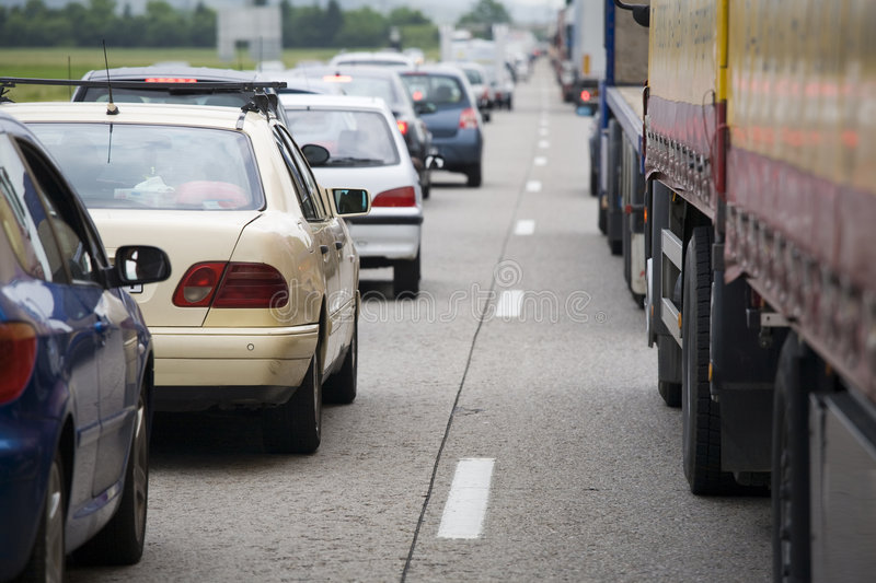 Download Morning traffic stock image. Image of line, land, common - 8413963