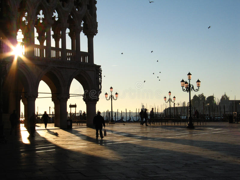 Download Morning in Venice stock photo. Image of orange, detail - 28179210