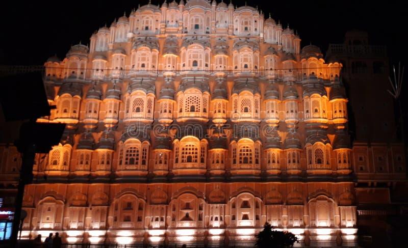 Hawa Mahal jaipur stock image