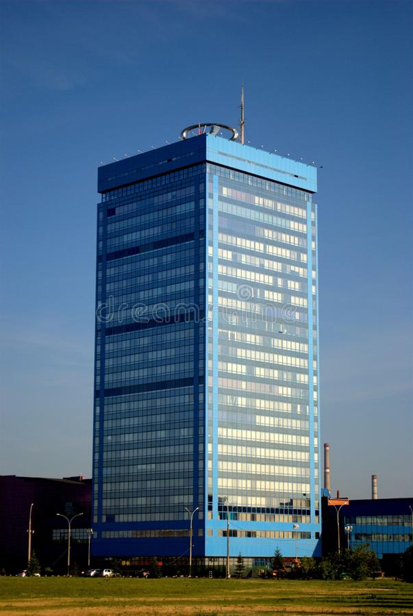 Morning view of the administrative building of JSC AVTOVAZ on the South Highway stock photos