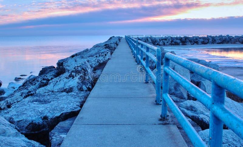 Download Morning Walk stock image. Image of nature, coastline - 39040393