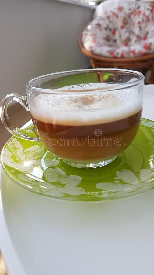 Good morning! Coffee time. Mornings with love. Coffee lover royalty free stock image
