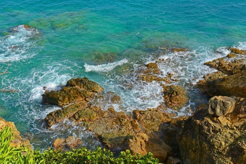 Morningstar fjärd, St Thomas, USA Jungfruöarna arkivfoton