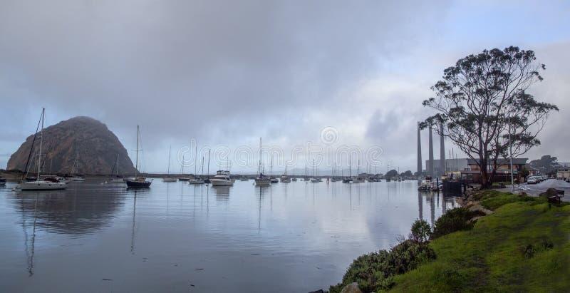 Moro Bay van Californië royalty-vrije stock afbeeldingen