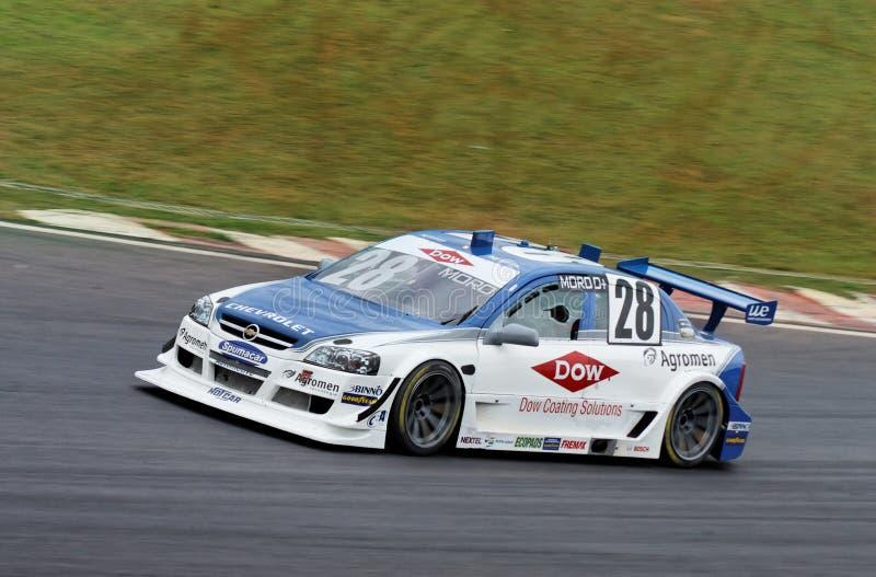 Moro Racing Stock Car royalty free stock photo
