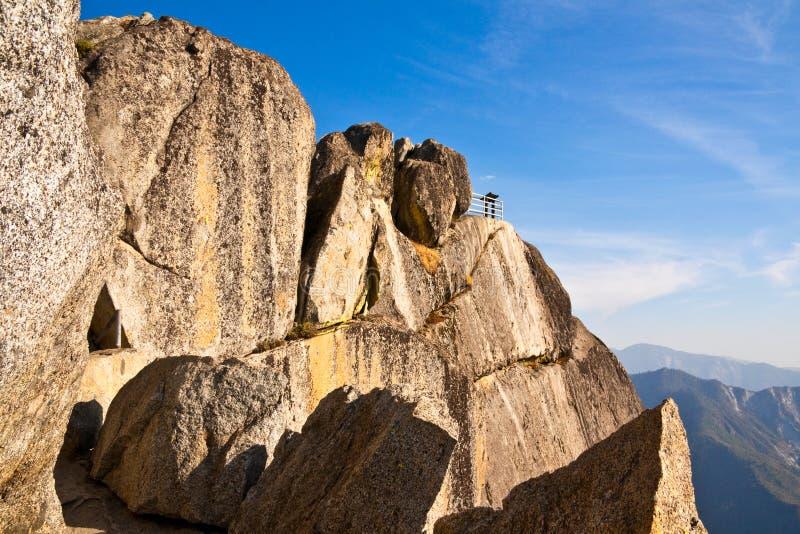 Download Moro Rock Overlook stock photo. Image of rock, stone - 11716796