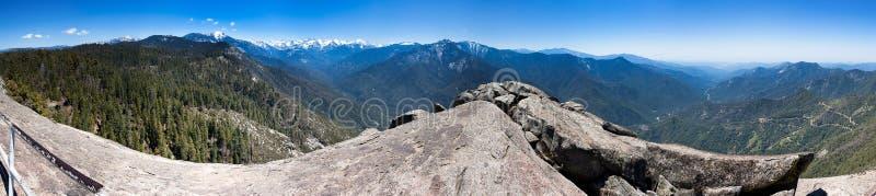 Moro Rock Panorama immagini stock