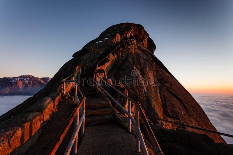 Moro Rock Staircase III immagini stock libere da diritti