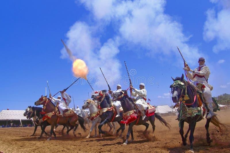 Morocanfantasie royalty-vrije stock afbeeldingen