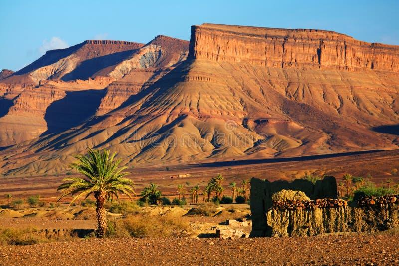 moroccan ландшафта стоковые изображения rf