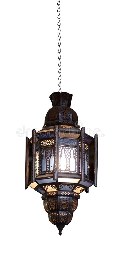 moroccan светильника стоковые фотографии rf