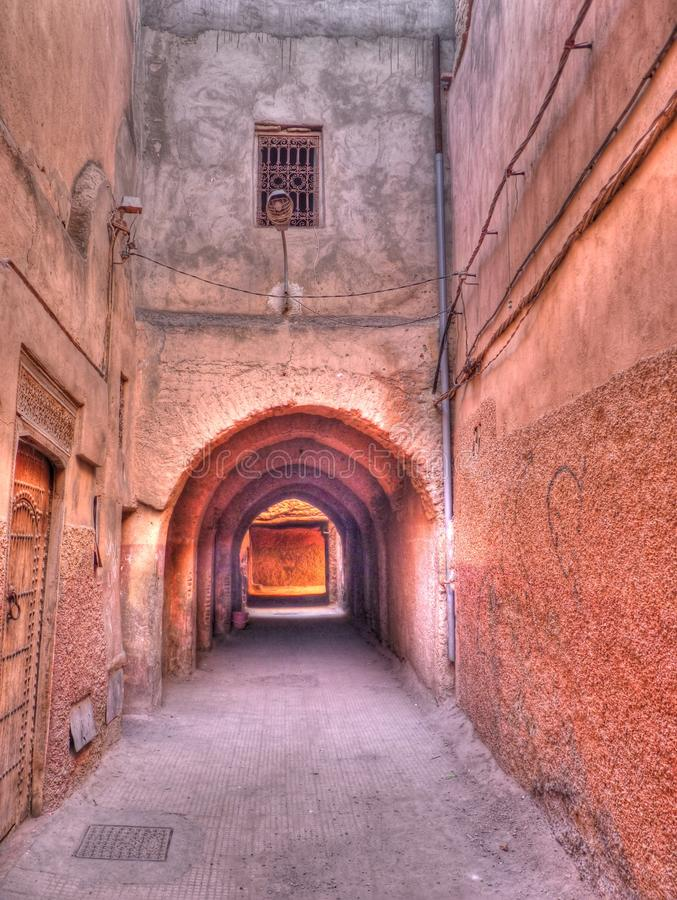 Moroccan Alley stock image