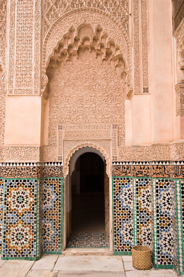 Moroccan architecture royalty free stock images