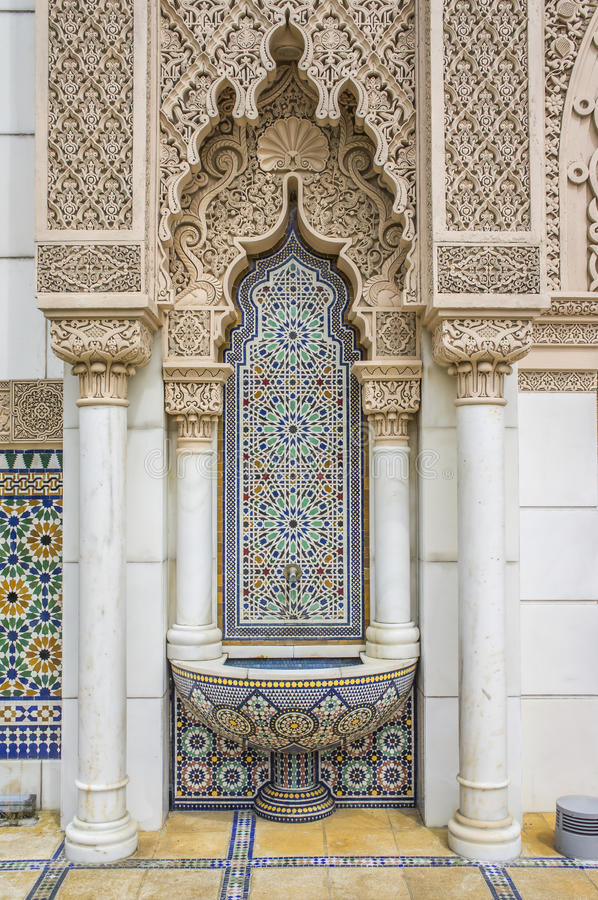Moroccan Architecture stock images
