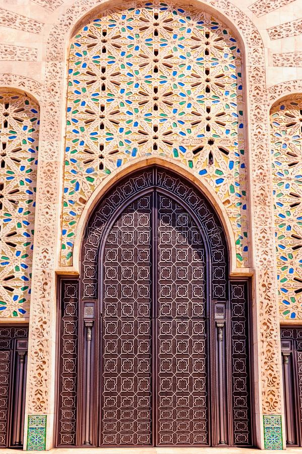 moroccan architecture traditional design hassan ii mosque in ca