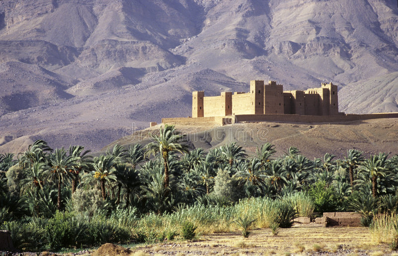 Moroccan citadel royalty free stock images