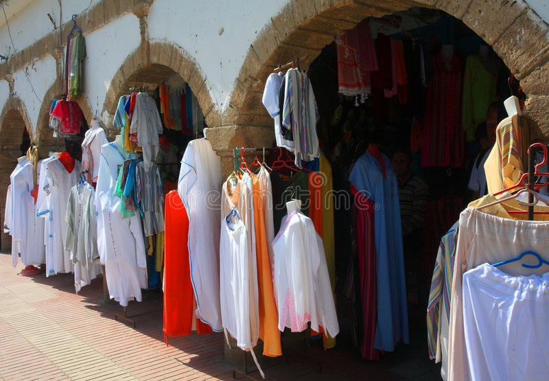 Download Moroccan Clothes Stock Image - Image: 7429091