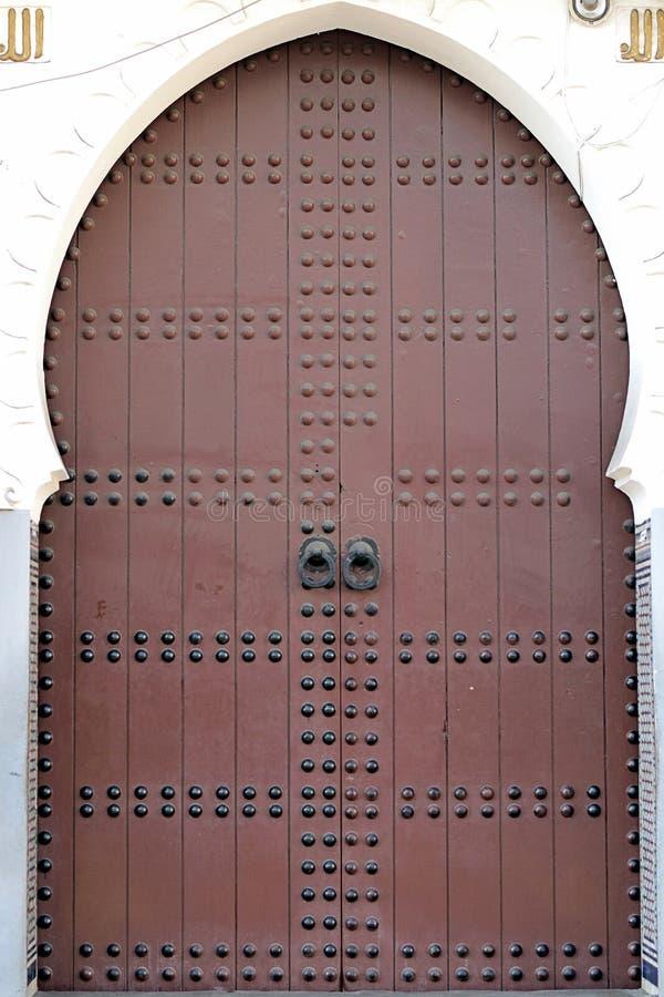 Arabic door stock photography