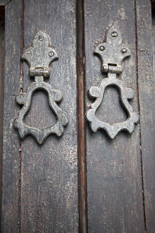 Download Moroccan door handles stock photo. Image of knocker, architectural - 27017538
