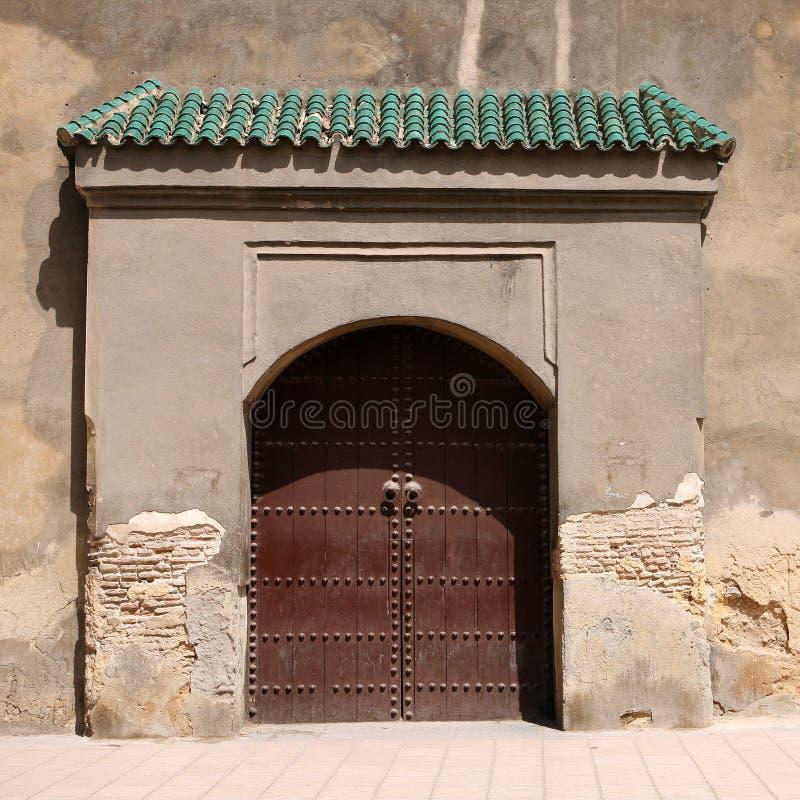 Moroccan doorway stock photography