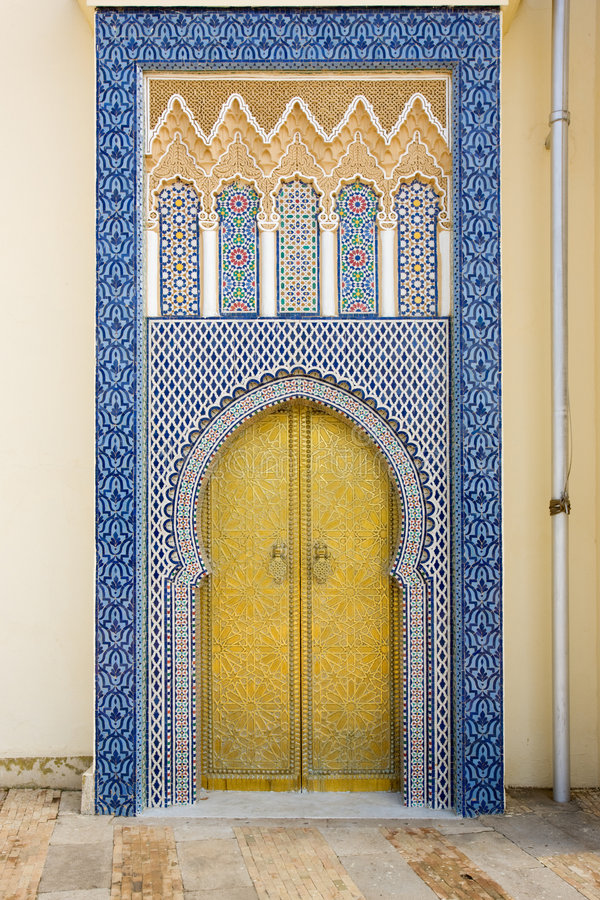 Download Moroccan entrance stock photo. Image of traditional, morocco - 6282940