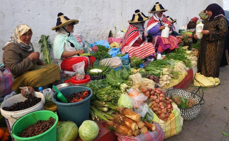 Moroccan Farmers Market stock photos