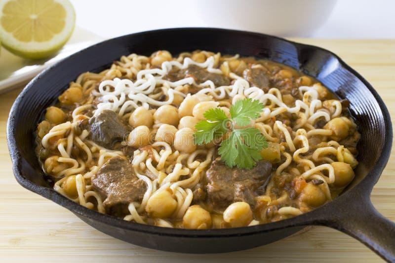 Moroccan Food Harira stock image