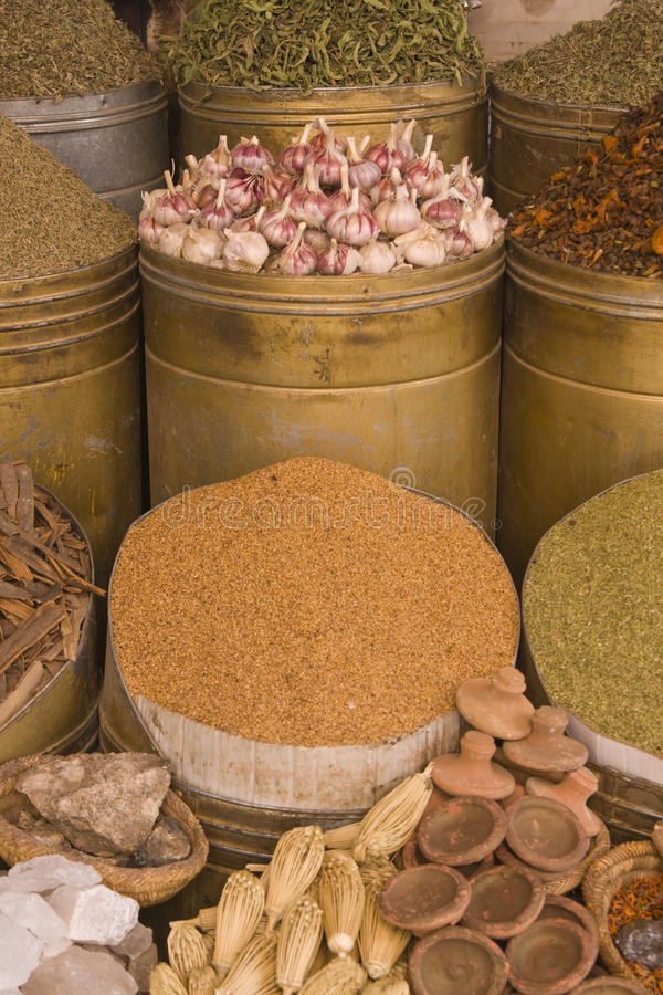 Download Moroccan Food Shop Stock Photo - Image: 14982810