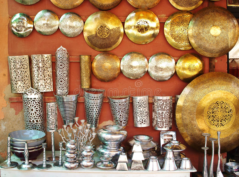 Moroccan handicraft royalty free stock photography