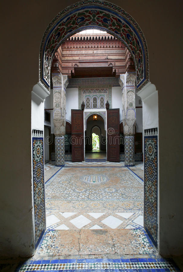Free Moroccan Indoor Architecture Royalty Free Stock Photography - 9861697