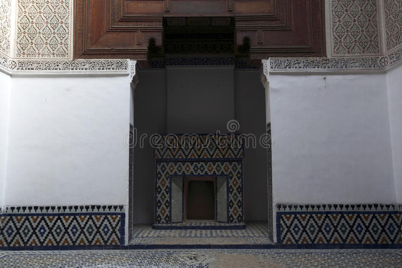 Download Moroccan Indoor Architecture Royalty Free Stock Photo - Image: 9864375