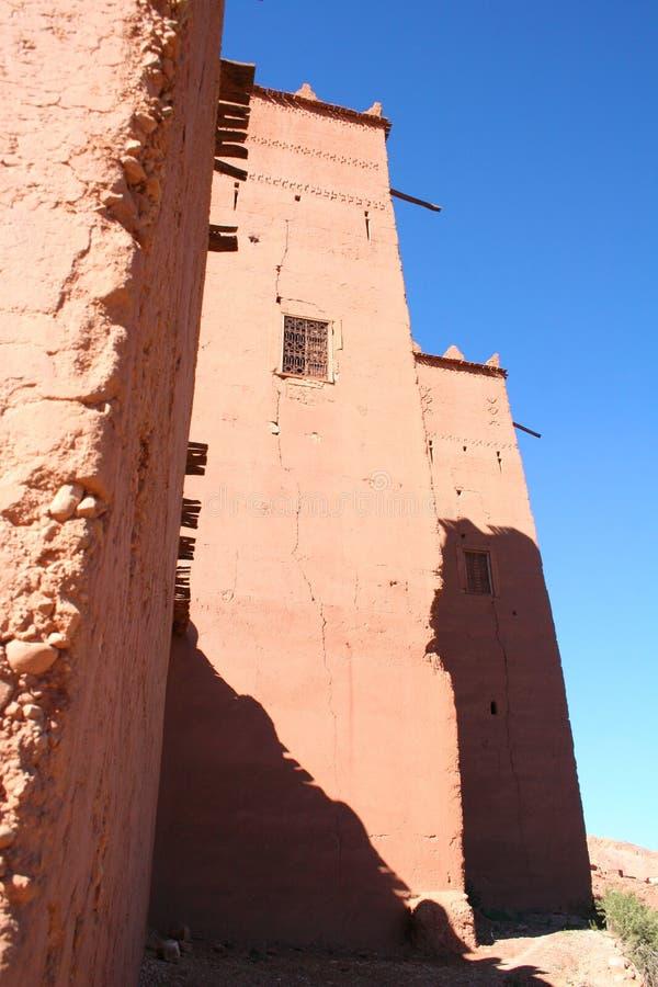 Moroccan kasbah royalty free stock photos