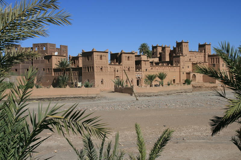 Moroccan Kasbah stock photo