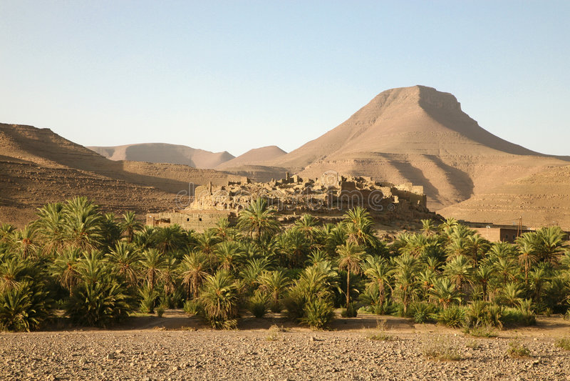 Moroccan Landscape Stock Image