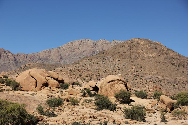 Moroccan Landscape royalty free stock photography