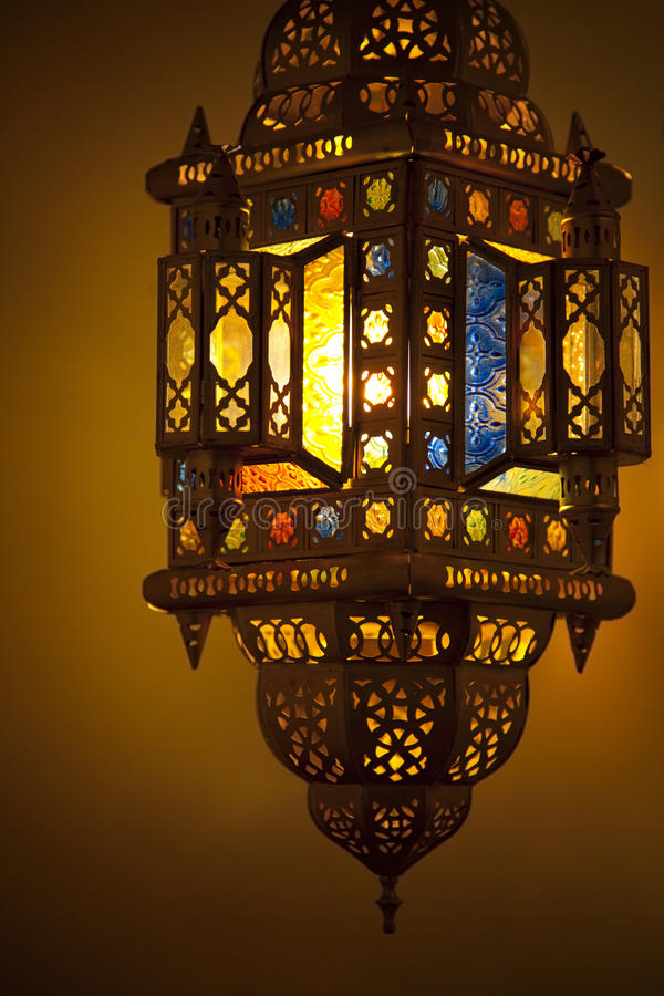 Moroccan Lantern royalty free stock photo
