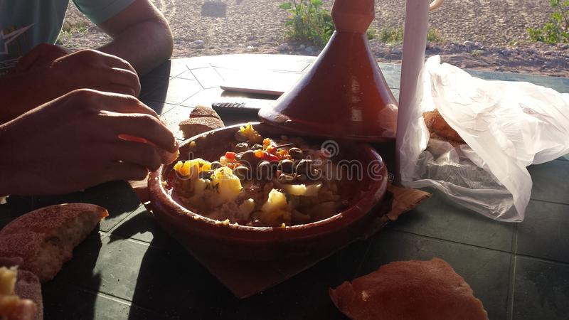 Moroccan life style royalty free stock photo