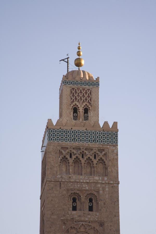 Download Moroccan Minaret Marrakesh stock photo. Image of religion - 3592536