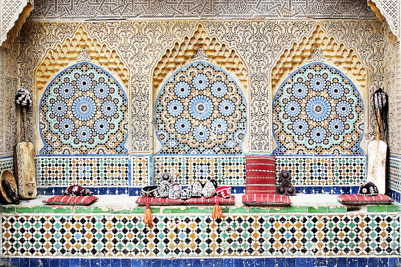 Download Moroccan Mosaic 2 stock image. Image of islam, style, tourism - 2230547