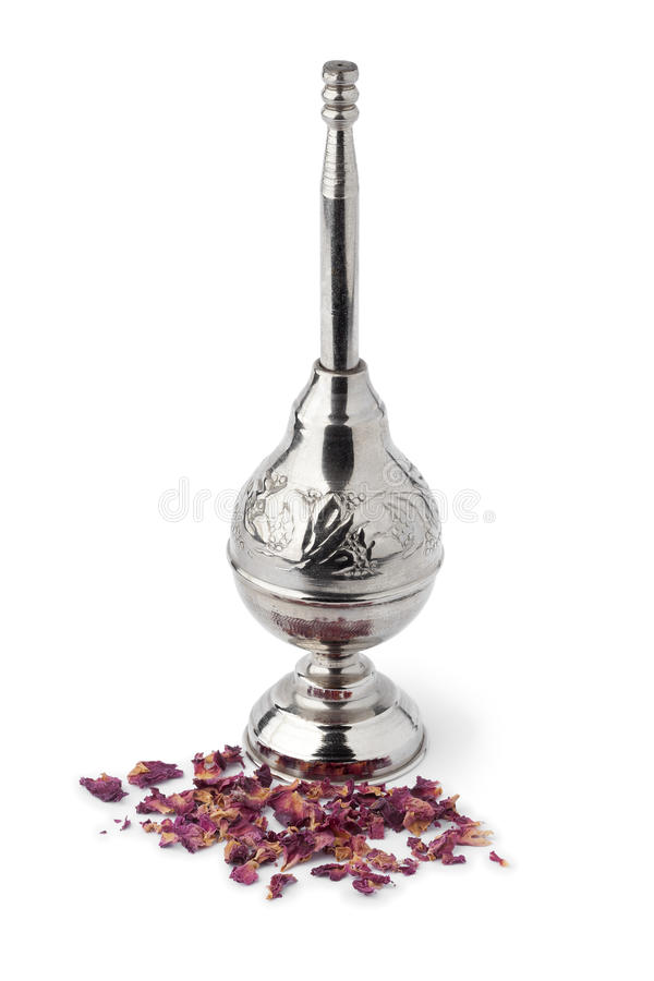 Download Moroccan Rose Water Sprinkler And Petals Stock Image - Image: 37491191