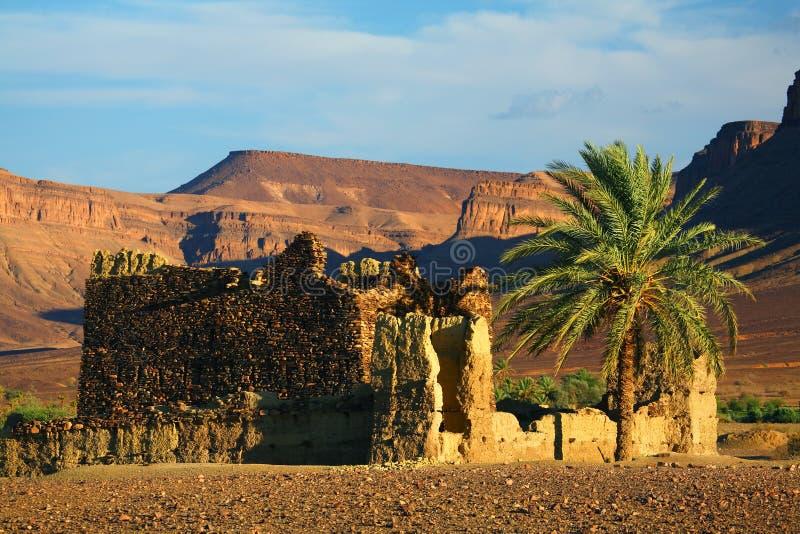 Moroccan ruins stock image