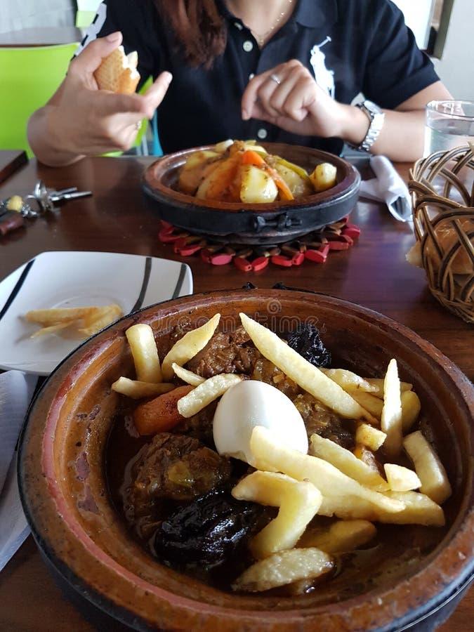 Moroccan& x27; s tagine obrazy royalty free
